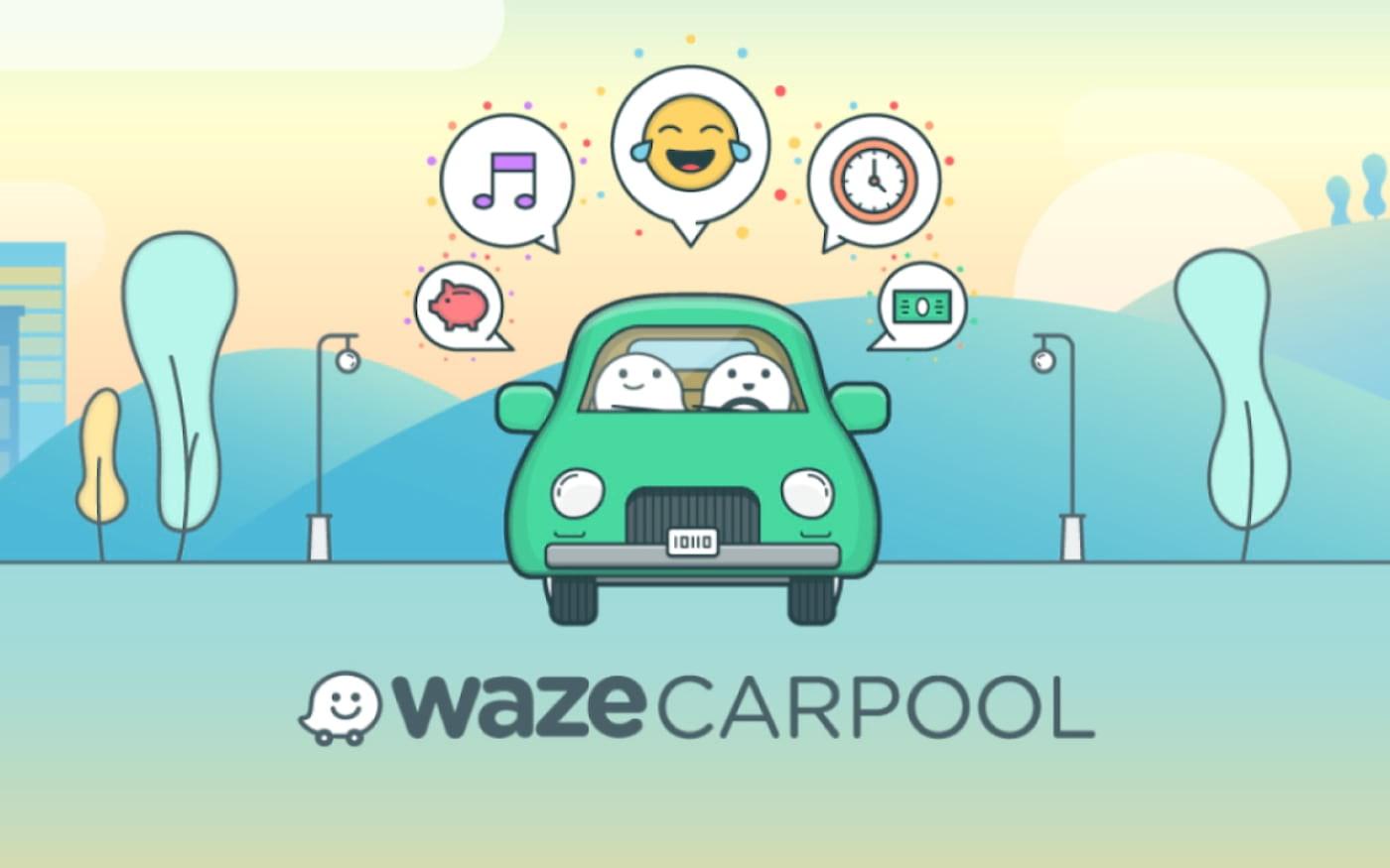 Waze atualiza serviço de carona (Carpool) e permite que motorista leve múltiplos passageiros