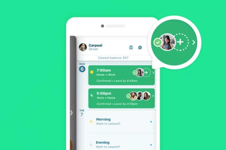 Nova opção de adicionar mais passageiros no Carpool do app Waze