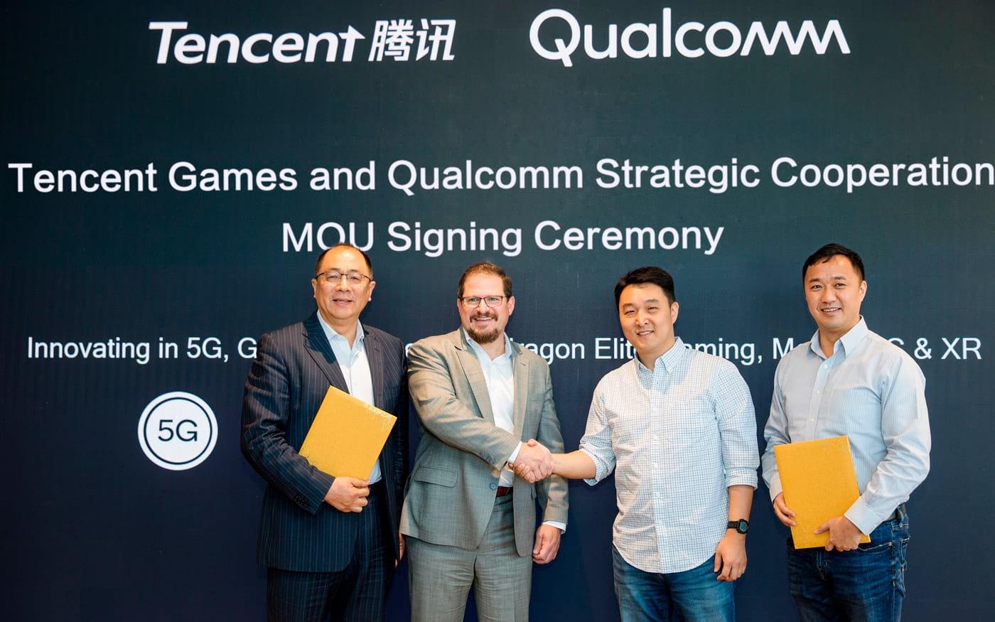 Parceria entre Qualcomm e Tencent Games