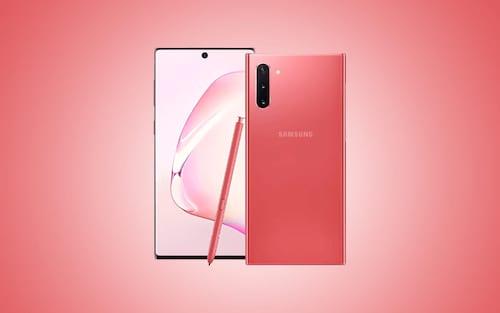 Galaxy Note 10: Vazam imagens com dispositivo na cor rosa