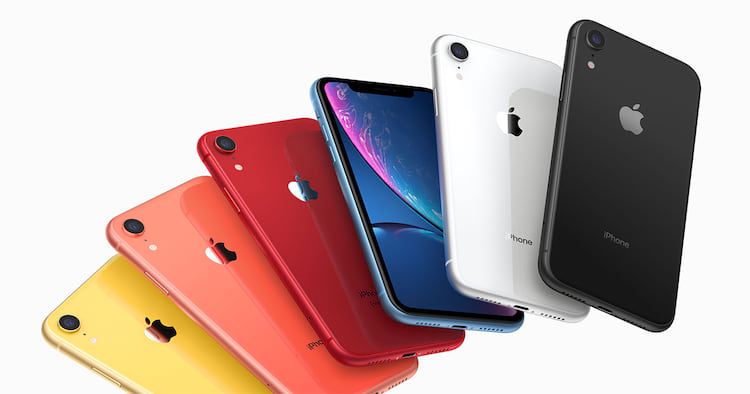 iPhones tiveram uma queda nas vendas em comparação ao mesmo trimestre do ano passado.
