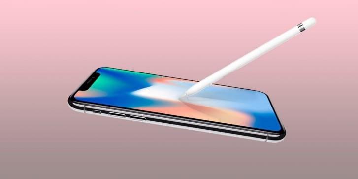 Rumores indicam que nova linha de iPhones deve vir com suporte para Apple Pencil.