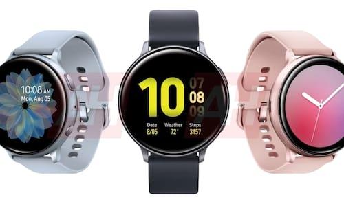 Samsung Galaxy Watch Active 2 tem imagens vazadas de todas as suas cores