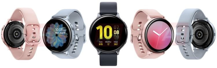 Smartwatch Samsung galaxy Active 2 e suas cores