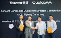 Qualcomm e Tencent irão desenvolver um smartphone com 5G focado em jogos