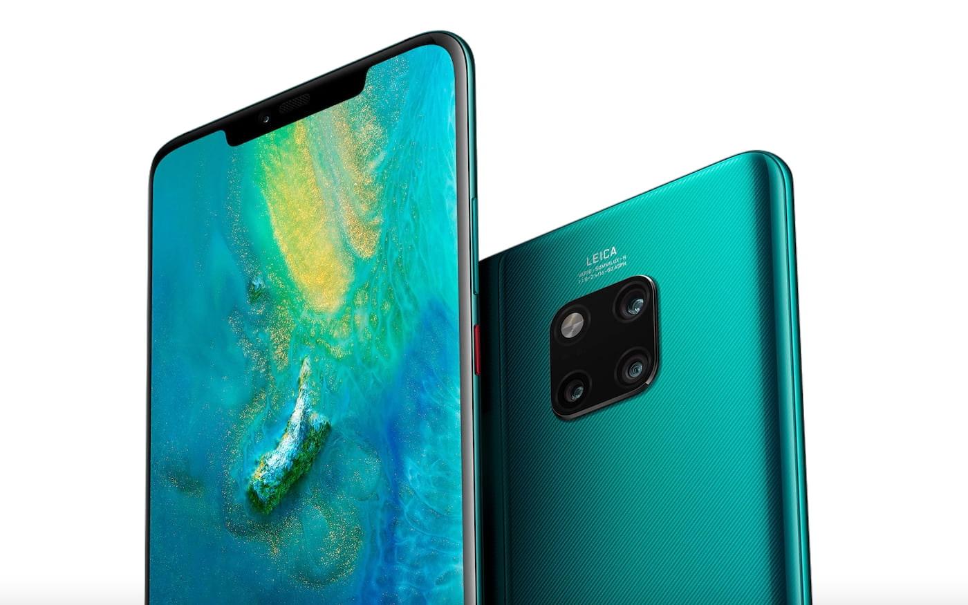 Huawei registra duas novas patentes para protetor de tela e sensor de câmera