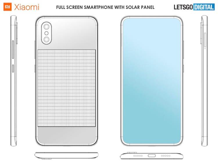 Xiaomi registra patente de smartphone com bateria solar