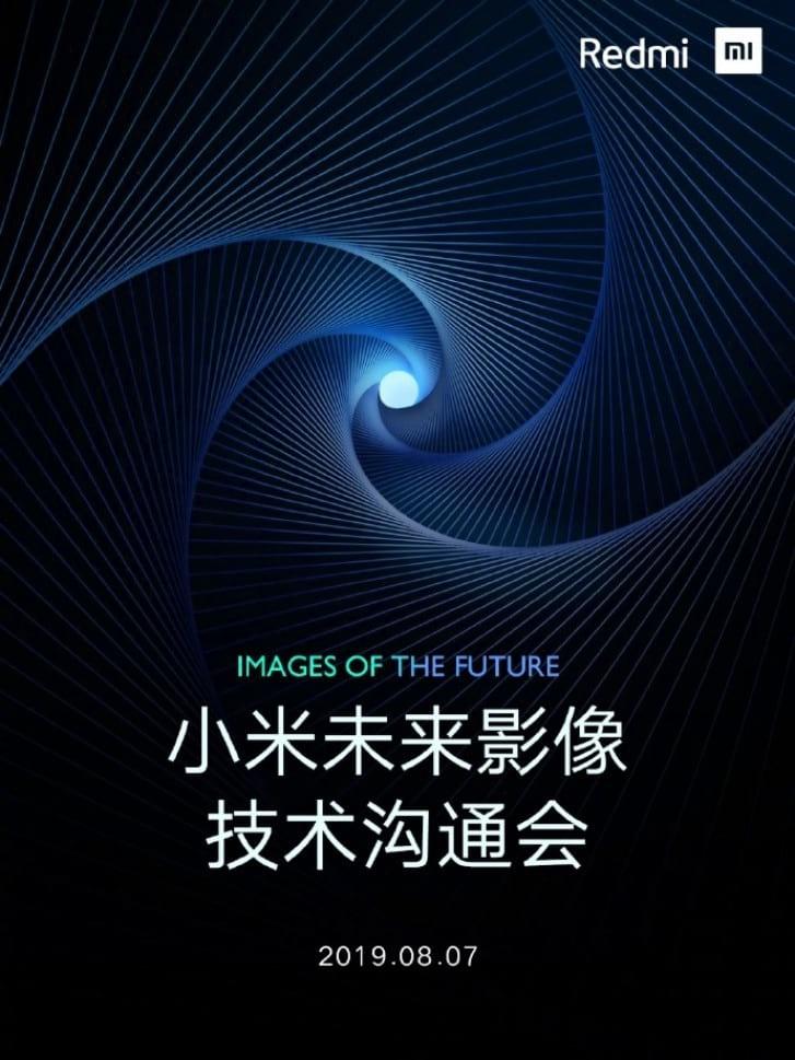 Redmi anuncia sensor de 64MP. Evento de lançamento da tecnologia ocorrerá um dia antes da Realme - que anunciou o mesmo sensor.