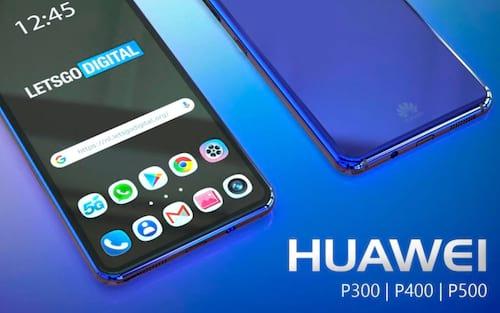 Modelos de smartphones Huawei: P300, P400 e P500