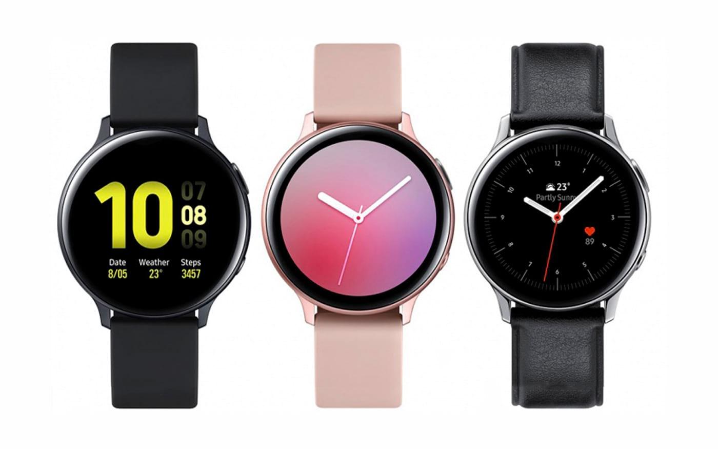 O Galaxy Watch Active 2 da Samsung, tela digital, conexão LTE e ...