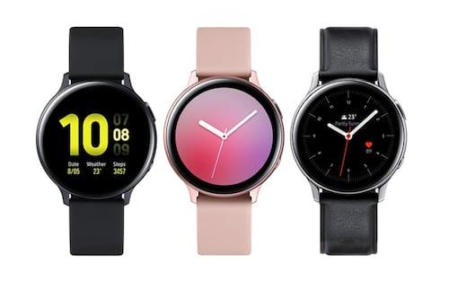 O Galaxy Watch Active 2 da Samsung, tela digital, conexão LTE e recurso de ECG