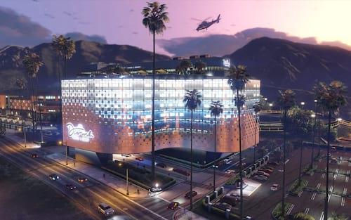 Casino  Resort Diamond de GTA Online quebra recorde de número de jogadores