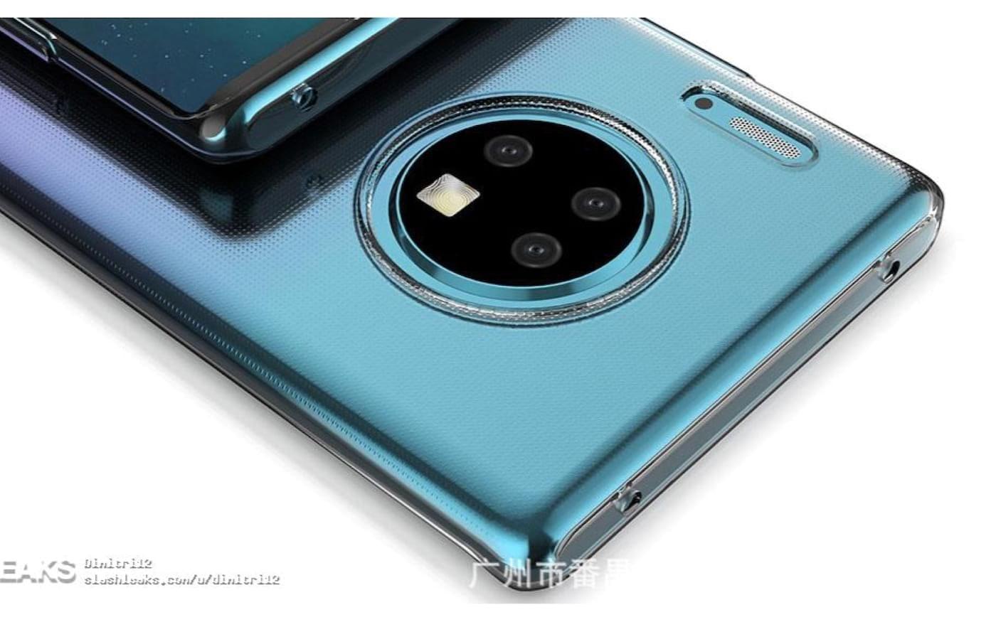 Nova renderização do Huawei Mate 30 Pro vaza na internet e confirma seu design