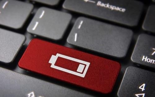 Como recalibrar a bateria no seu notebook Windows 10