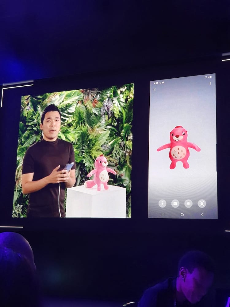 Scanner 3D permite ao usuário fazer com que objetos ganhem vida.