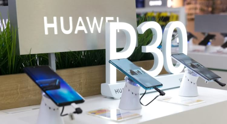 P30 Pro estará a venda nos novos quiosques da Huawei em Campinas, Rio de Janeiro e Brasília.