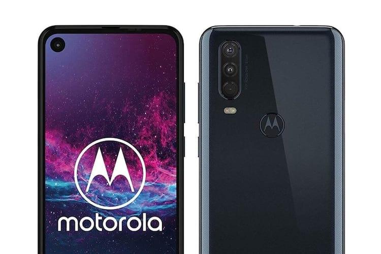 Motorola One Action vai contar com câmera tripla traseira.