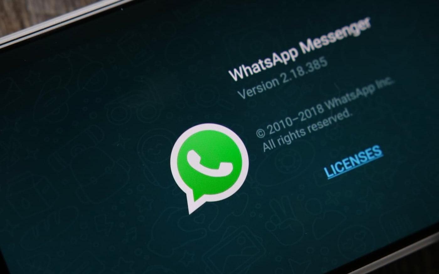 Modo noturno para WhatsApp pode ser lançado em breve