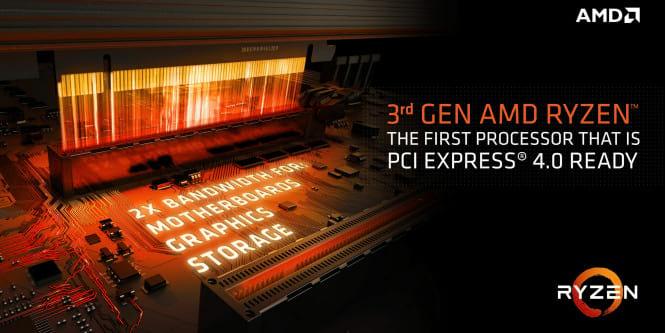 Se você quer usar a terceira geração de processadores Ryzen e ter suporte PCIe 4.0, você terá que ter também placa-mãe compatível, ou seja, igual ou superior às X570