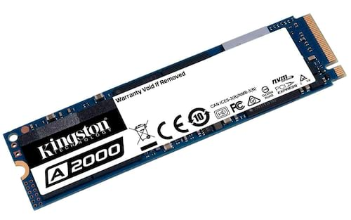 A Kingston anuncia sua série A2000, os SSDs PCIe 3.0 4x NVMe, mais baratos da marca