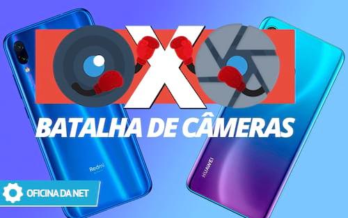Xiaomi Redmi Note 7 x Huawei P30 Lite - Batalha de câmeras
