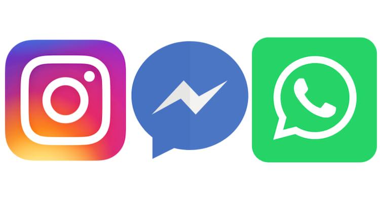 Instagram, Messenger e WhatsApp devem sofrer alterações em breve, sendo o Instagram e o Messenger os primeiros.