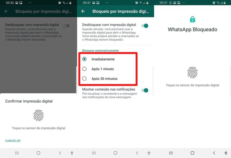 WhatApp bloqueio