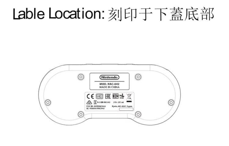 Controle do Super Nintendo para Nintendo Switch