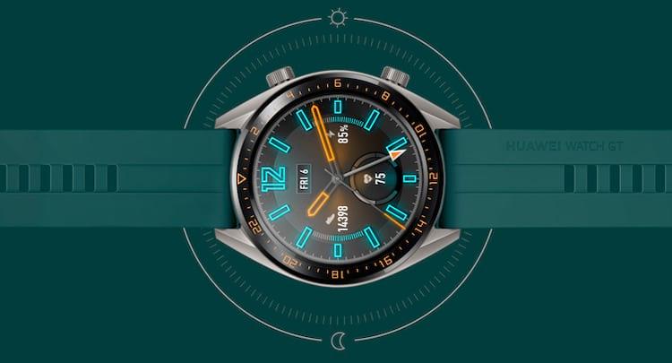 Huawei Watch GT Active bateria de longa duração promete até14dias de funcionamento