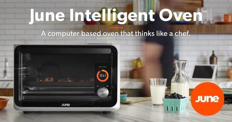 Forno inteligente June Oven liga sozinho e aquece a mais de 200 graus - Internet das Coisas precisa de mais cuidado