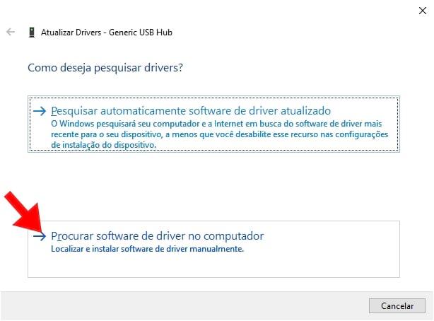procurar driver