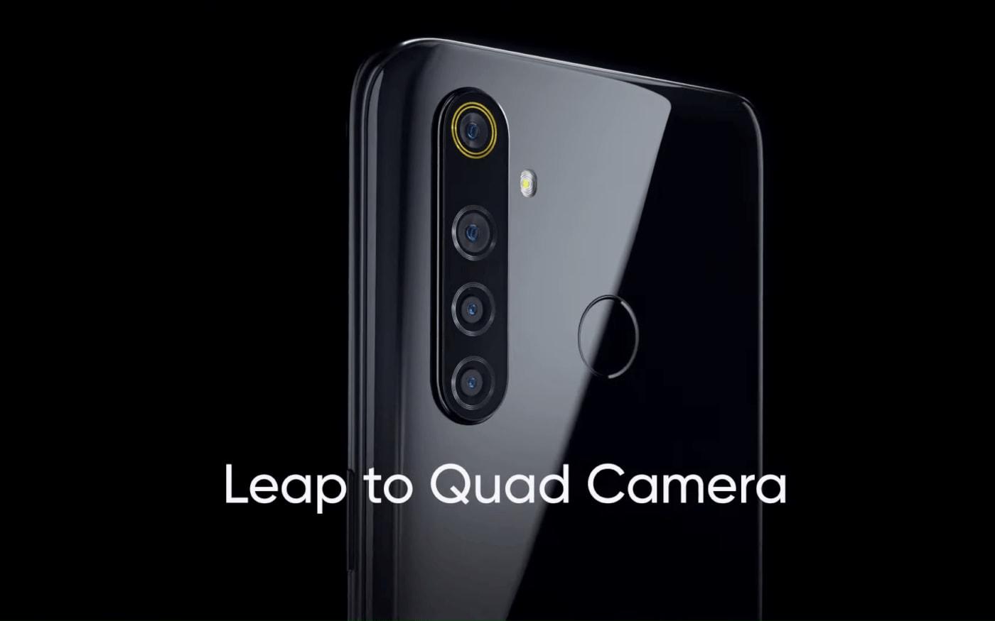 Vaza foto da tela do Realme 5 Pro com suas especificações técnicas