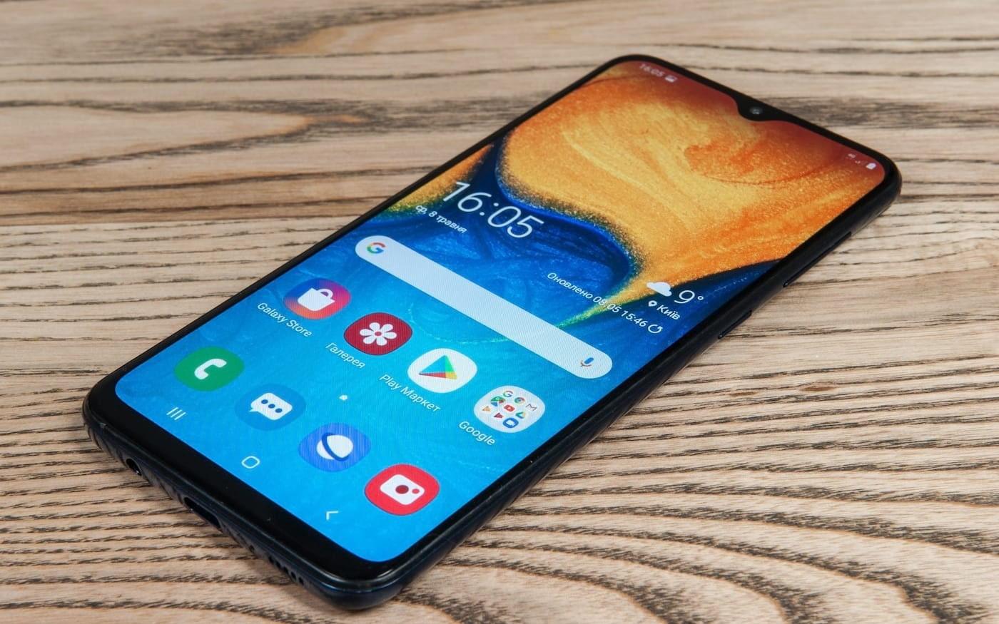 Galaxy A20s tem renderização vazada na internet