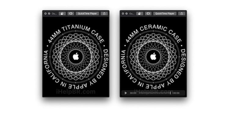 Cerâmica e Tinânio podem chegar para completar a lista de materiais disponíveis para o novo smartwatch da Apple
