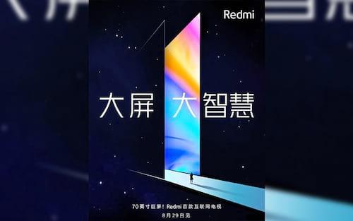 Redmi Note 8 e Redmi TV serão apresentados oficialmente em 29 de agosto