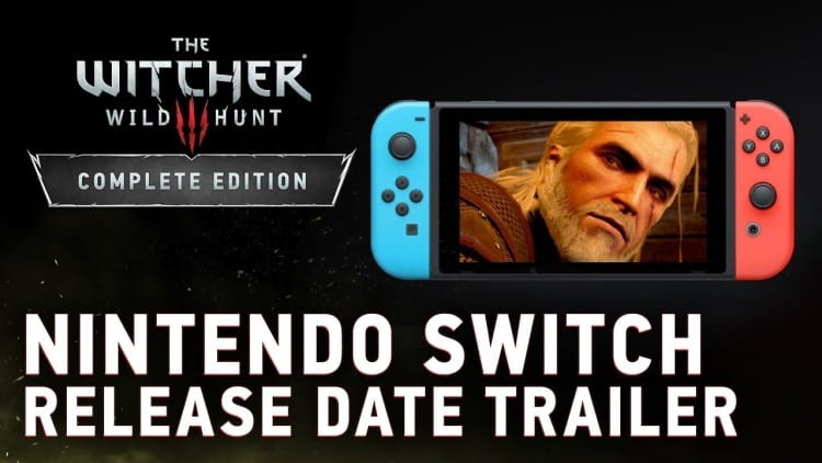 The Witcher 3 for Nintendo Switch