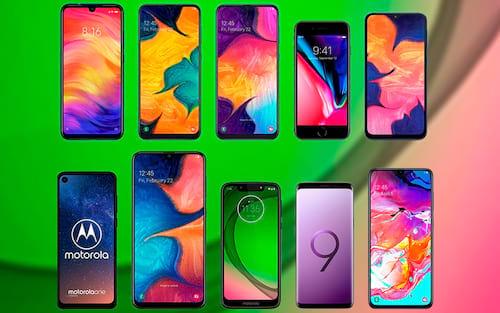 Top 10: Smartphones mais procurados em Julho de 2019