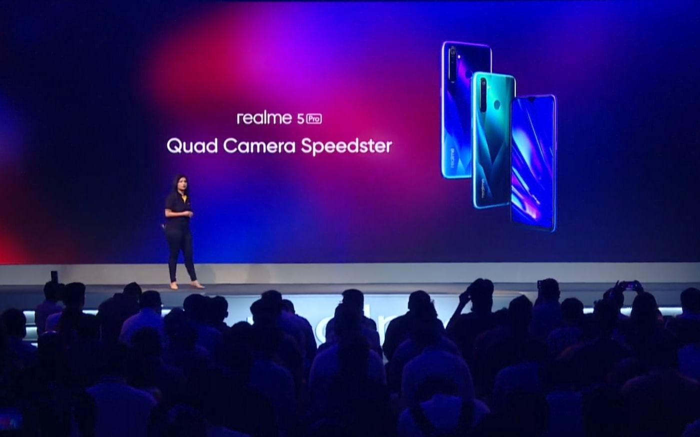 Realme 5 com câmera de 64 MP deverá se chamar XT