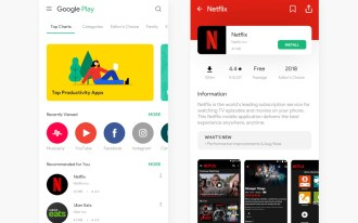 Google Play Store tem nova interface