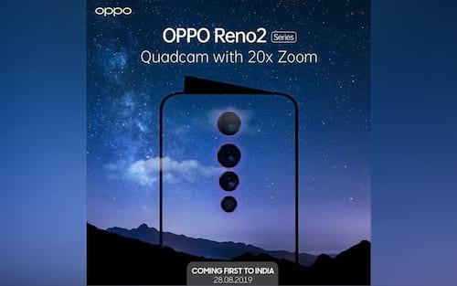 Reno 2 da Oppo tem incrível sistema estabilizador de câmera e funções noturnas