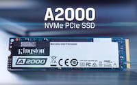 Kingston lança SSD A2000 NVMe PCIe de nova geração com 5 anos de garantia