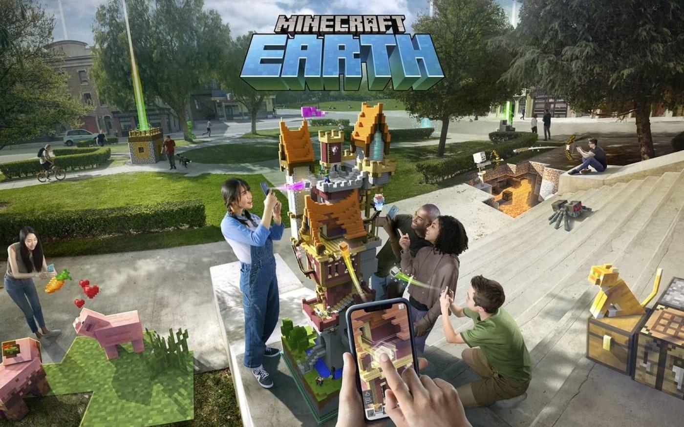 Já é possível realizar o pré-registro para o Minecraft Earth beta (Android)