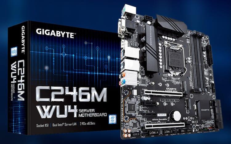 Gigabyte C246M-WU4