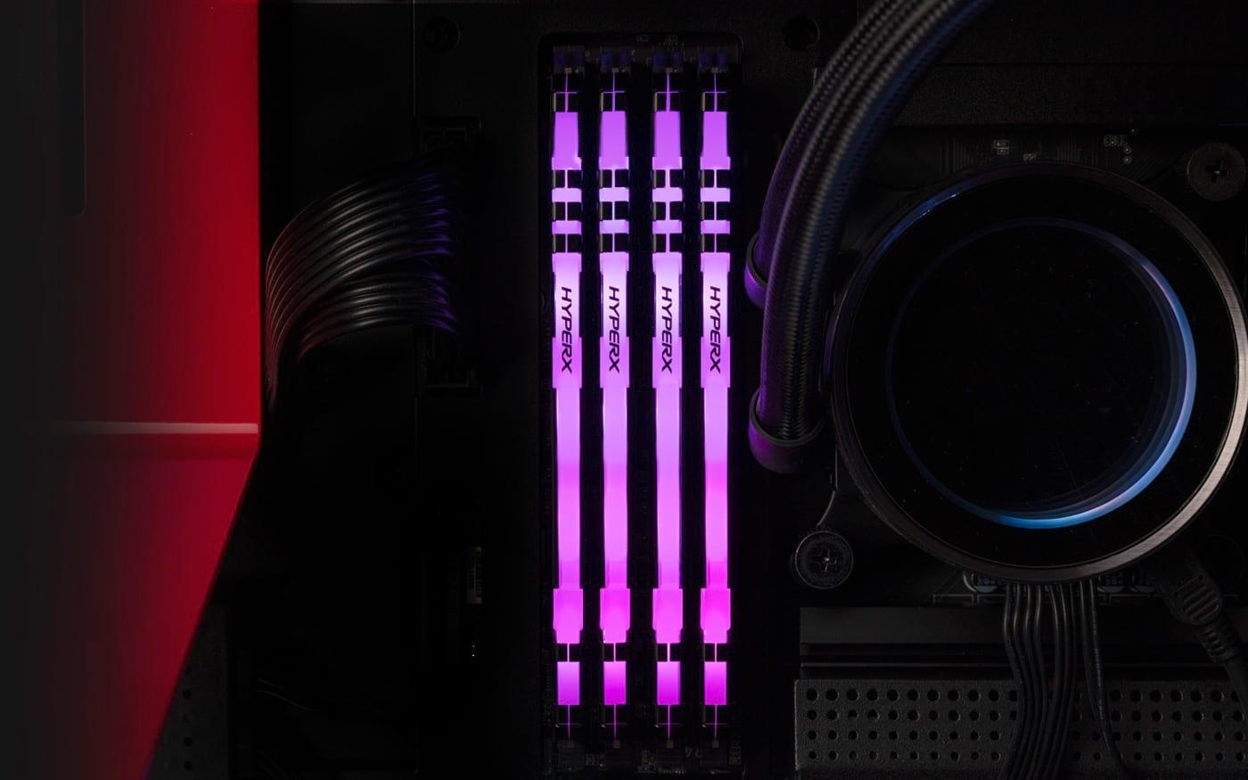 HyperX amplia portfólio de memórias com a nova FURY DDR4 RGB