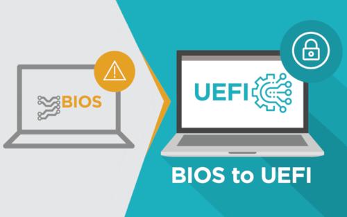 Qual a diferença entre BIOS e UEFI?