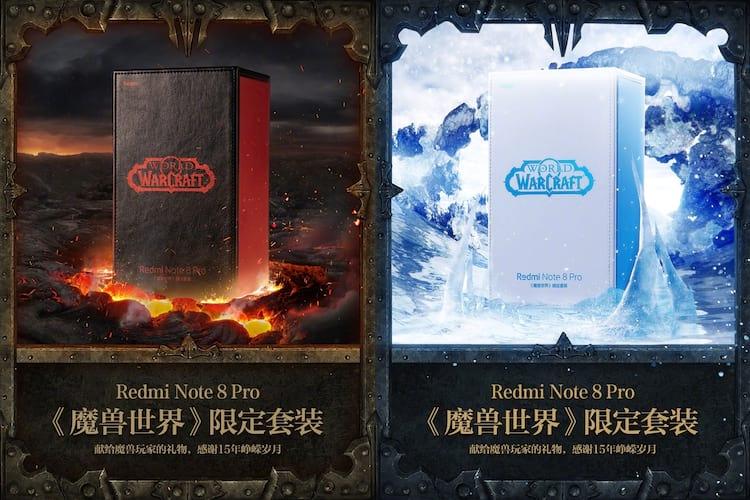 Redmi Note 8 Pro edição World of Warcraft