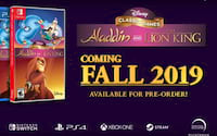 Anunciado Remasters de Rei Leão e Aladdin do SNES e Mega Drive