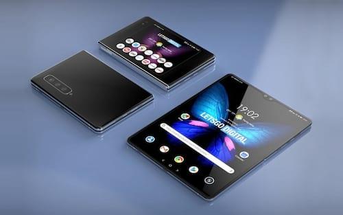 Samsung persiste em smartphone dobrável e registra patente do Galaxy Fold 2
