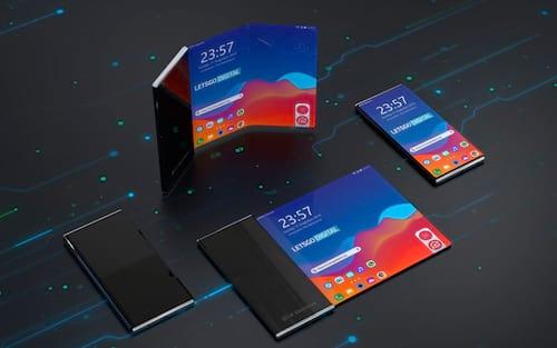 LG registra patente de tela dobrável e também enrolável