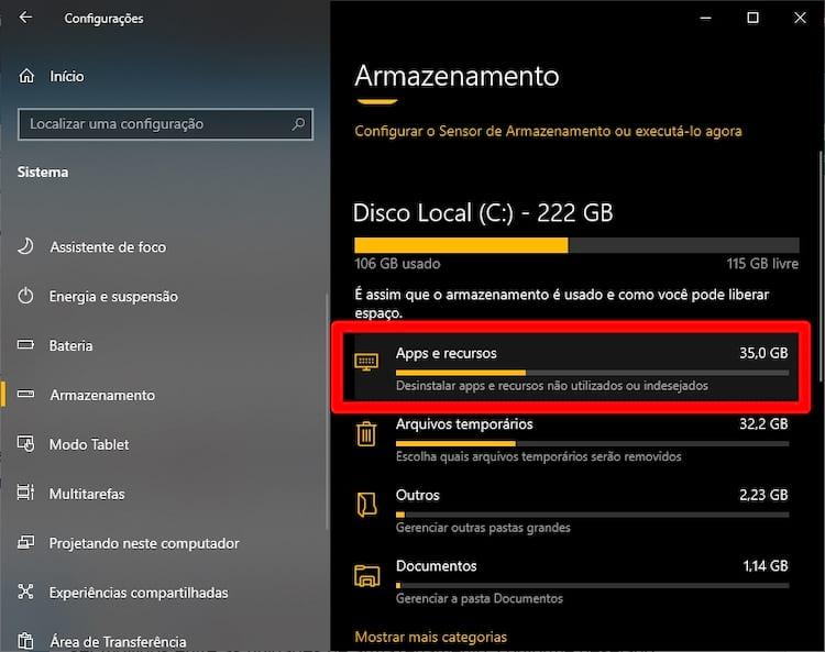 aplicativos windows 10